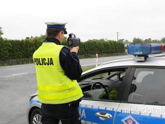 Naćpany kierowca uciekał przed mielecką policją