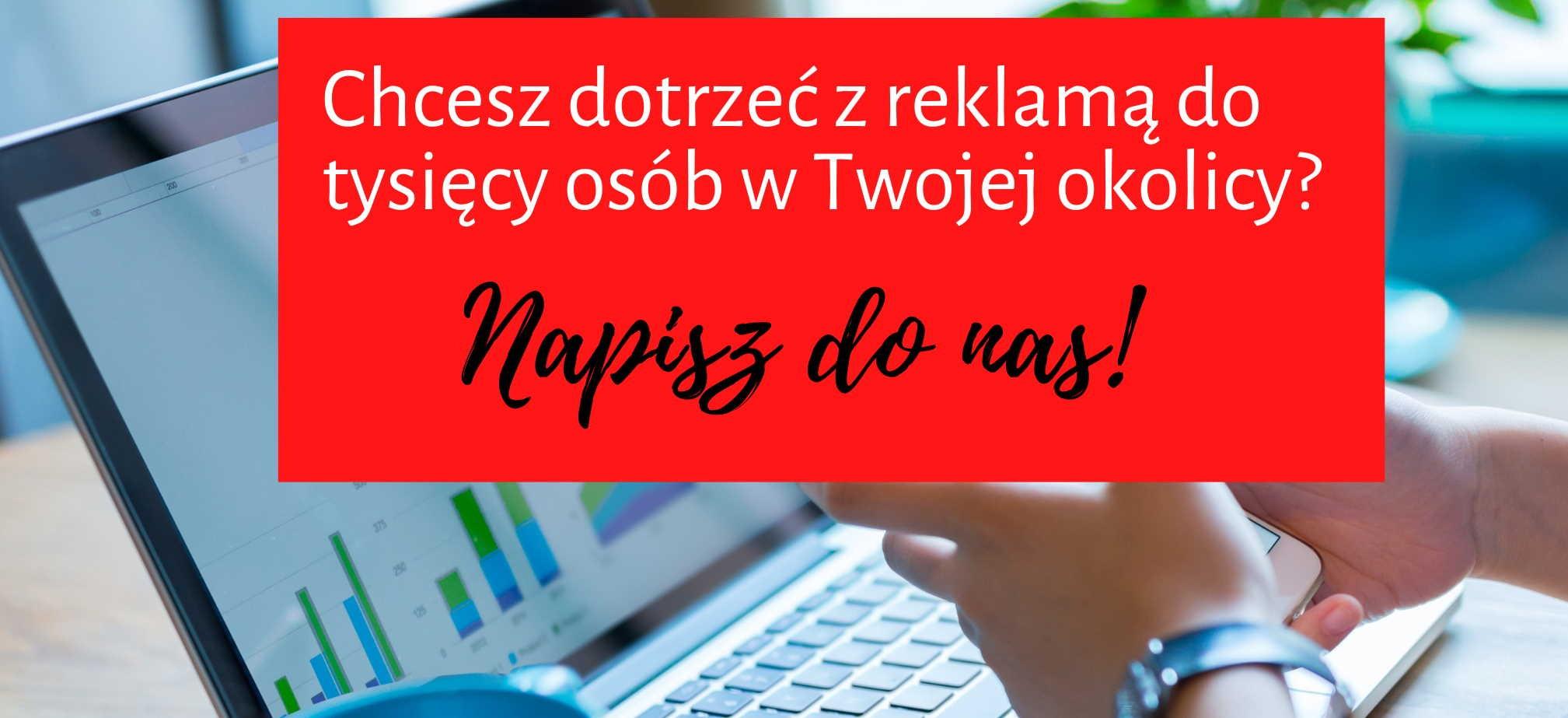 Reklama na portalu Mielec Lokalnie