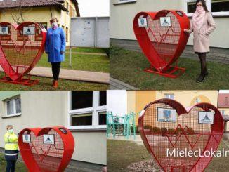 Kolejne serca na nakrętki na terenie gminy Przecław