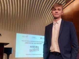 Filip Dymczyk wśród najlepszych maturzystów w Polsce